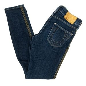 True Religion =Jeans Embellished Studs Lining W24